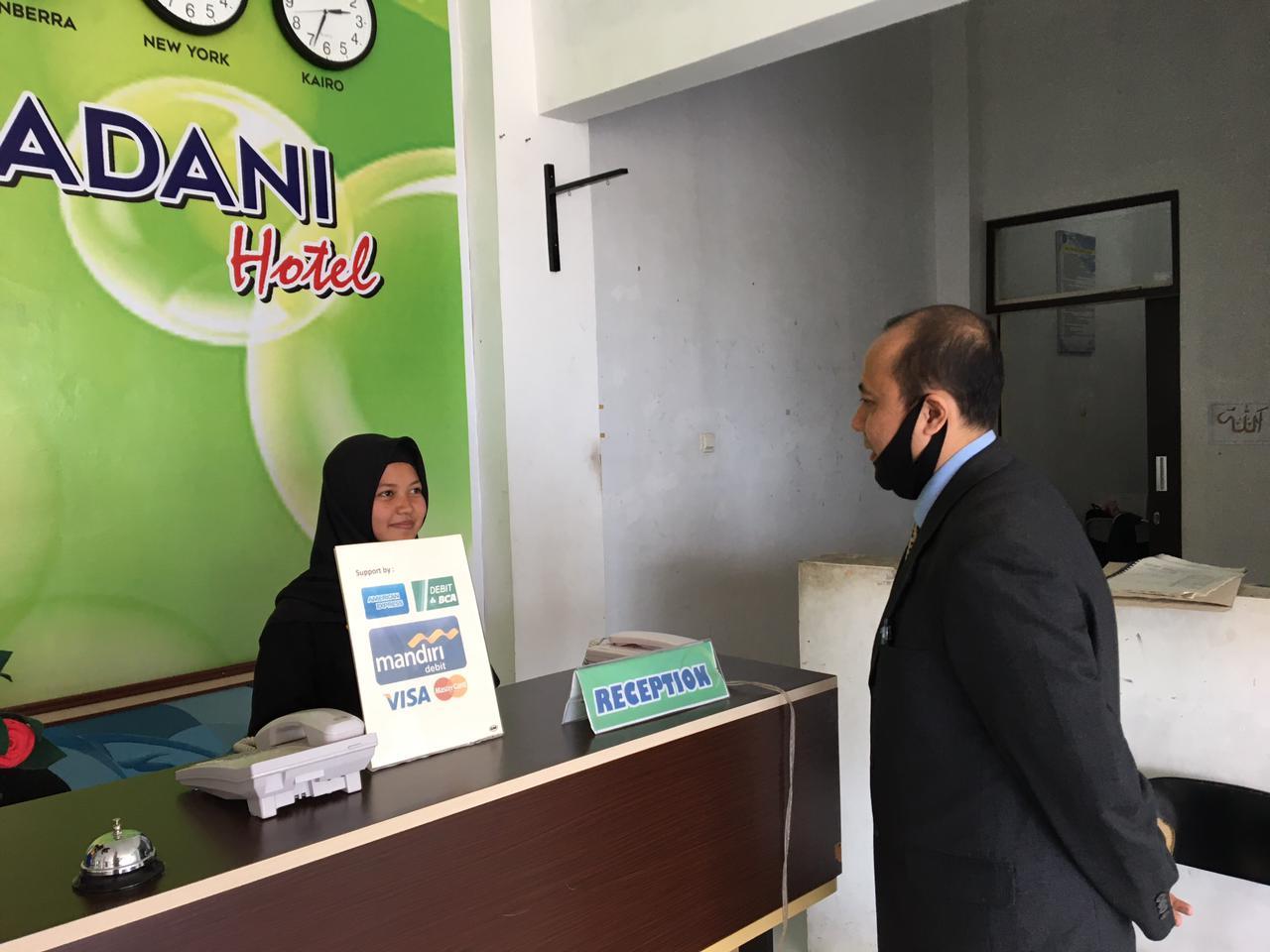 Ujikom Tahap-1 jurusan Perhotelan SMK Al-Madani Garut