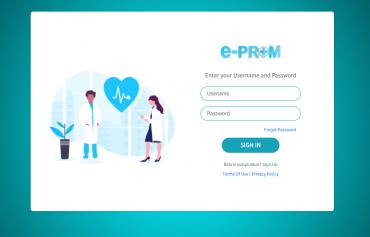 E-PROM (Sistem Informasi Rumah sakit)